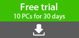 Free trial: 10 PCs for 30 days